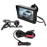 BEST4U Telecamera Auto Retromarcia, 10,9 cm TFT LCD Car Monitor Telecamera retromarcia Impermeabile...