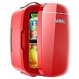 Mini Frigo da Camera 6 litri / 8 lattine, OMMO Frigo Portatile Elettrico con Funzione Caldo Freddo...