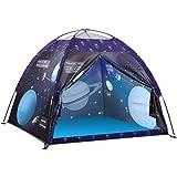 Tenda da Gioco, Exqline Tenda per Bambini, Pop Up Tenda da Campeggio, Tema del Pianeta Spaziale,...