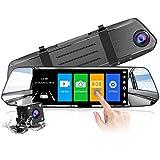 【2021 Nuova Versione】CHORTAU Telecamera per Auto da 7 pollici Touchscreen Full HD 1080P,...