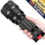 Torcia LED Potente Torce LED Alta Potenza Militare, Alta Lumen Torcia Elettrica,Militare Tattica...
