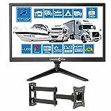 20 Pollici (51cm) 12V / 240V HD+ LED Digitale TV DVB-T/T2 (Visione gratuita) USB PVR & Media Player...