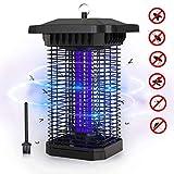FOCHEA Zanzariera Elettrica, 18W UV Lampada Antizanzare Impermeabile IPX4, Lampada Zanzare da...