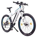 NCM Moscow Plus Bicicletta elettrica da Trekking, 250W, Batería 48V 16Ah 768Wh 29' Bianco