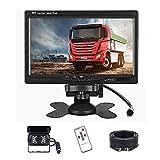 Telecamera Retromarcia per Auto, Podofo 7 pollici HD LCD Specchio Monitor + Telecamera retromarcia...