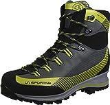 LA SPORTIVA Trango TRK Leather GTX Carbon/Green, Stivali da Escursionismo Alti Unisex-Adulto
