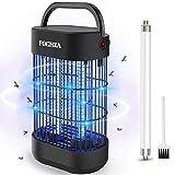 Zanzariera Elettrica, FOCHEA 12W Lampada Antizanzare con Luce UV e Vassoio di Raccolta Ammazza...
