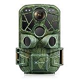 Cococam Fototrappola WiFi Bluetooth 4K 24MP con App Fotocamera da Caccia 3 sensori PIR visione...