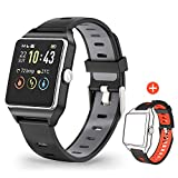 MOTOK Smartwatch GPS Orologio Fitness Uomo Donna Impermeabile IP68 Smart Watch Cardiofrequenzimetro...