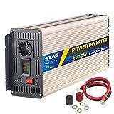 SUG 2000w (picco 4000w) inverter onda pura 12v 220v trasformatore di potenza con display a led(2000W...