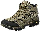 Merrell Moab 2 Leather Mid GTX, Stivali da Escursionismo Alti Uomo, Marrone (Pecan), 43.5 EU