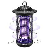 Aerb Lampada Antizanzare Elettrica, 18W Insetti Zanzare Elettrico, con Luce UV, Alta Tensione 4000V,...