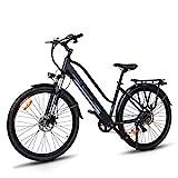 Macwheel Cruiser-550 28' Bici Elettrica da Trekking, Batteria Rimovibile agli Ioni di Litio da 36...