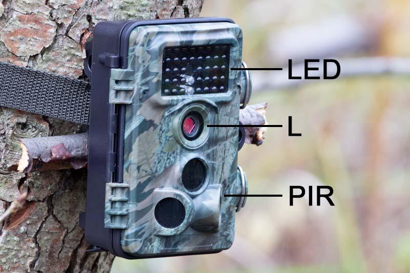 componenti fototrappola