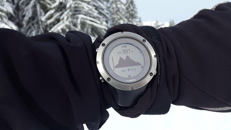 orologio gps trekking montagna