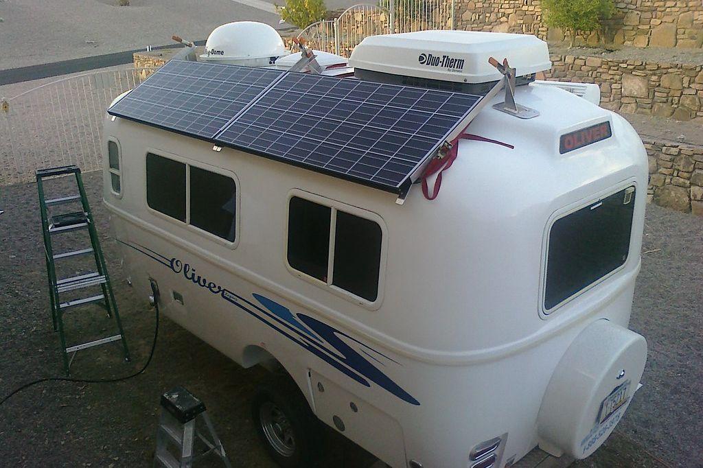 pannelli solari per camper e caravan