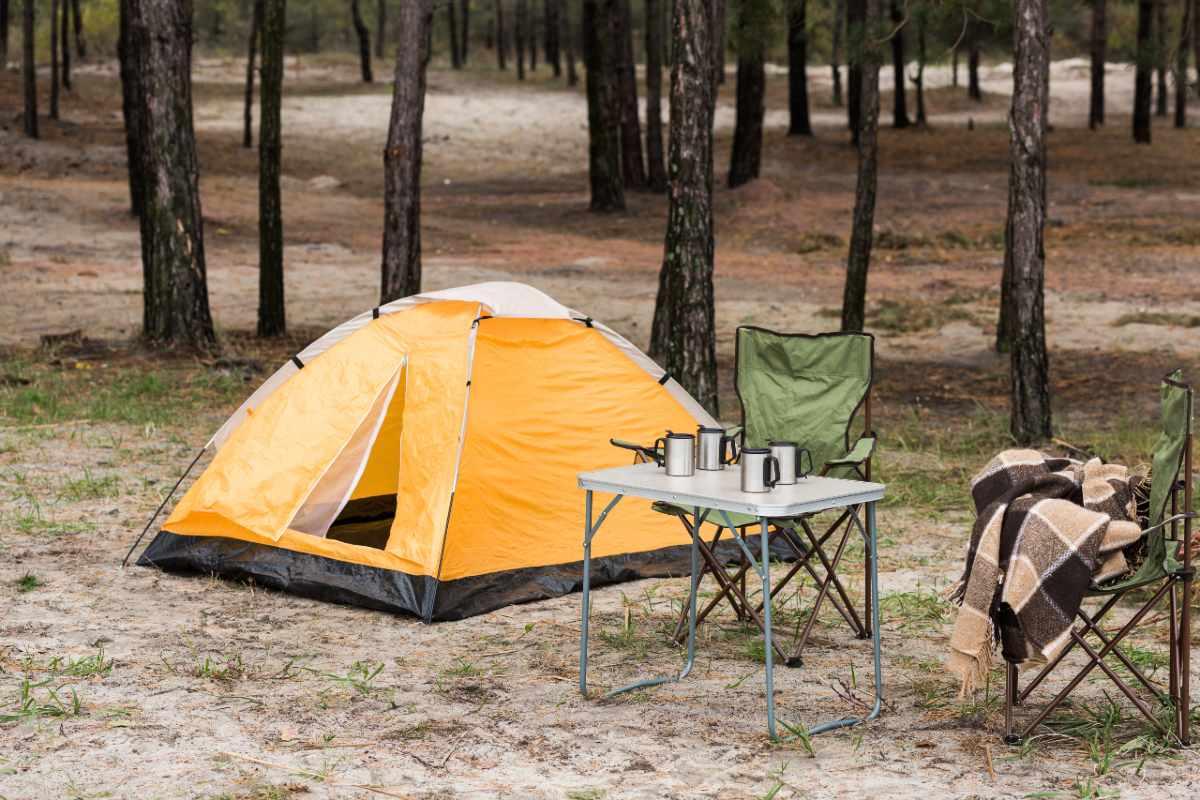 vacanza campeggio in tenda