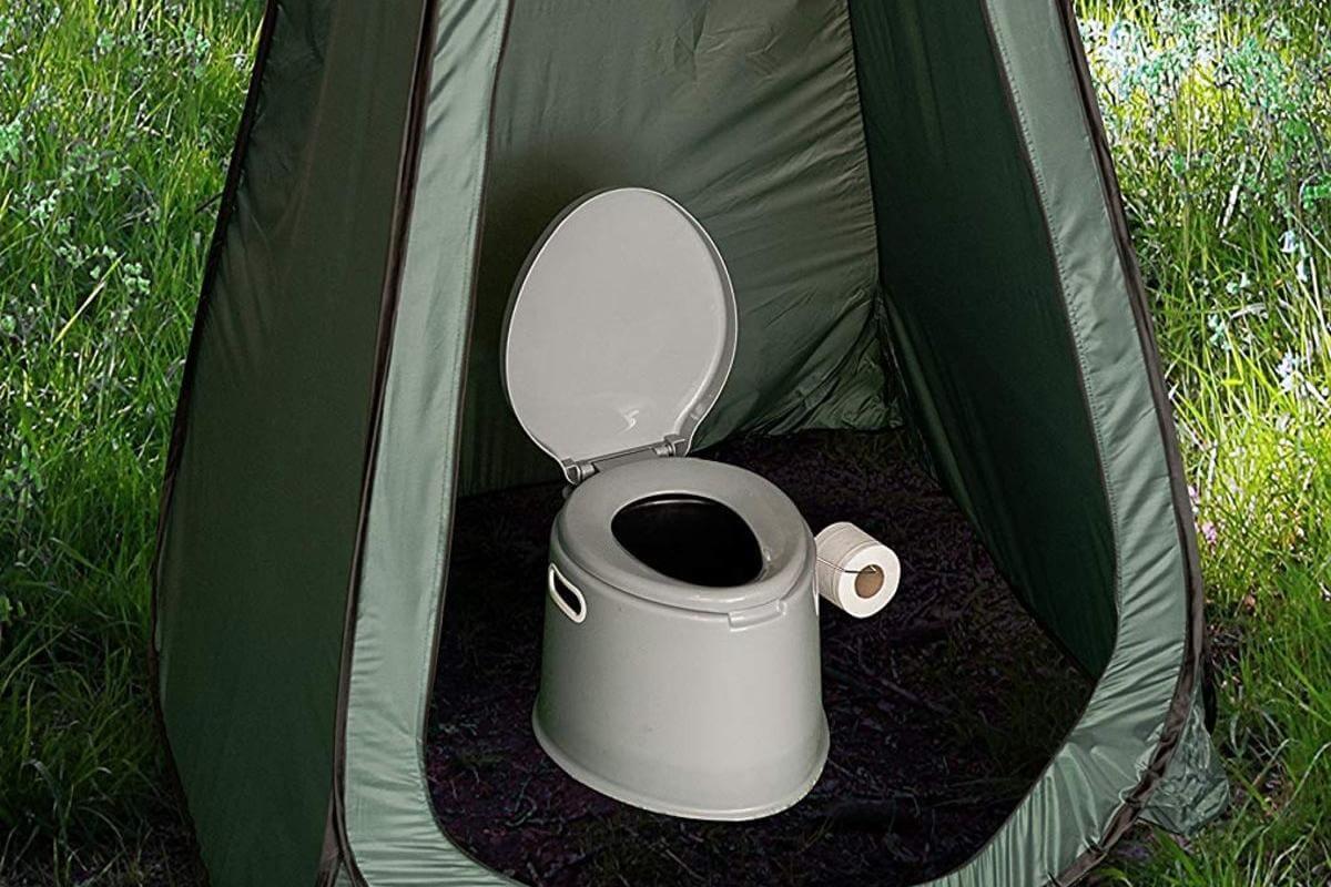 wc chimico portatile per campeggio